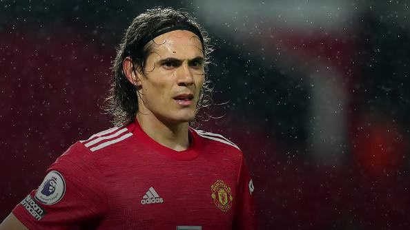 Ole Gunnar Solskjaer delighted to see Edinson Cavani ready to be back